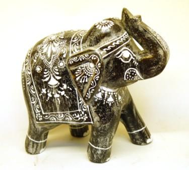 Слон роспись 6056
