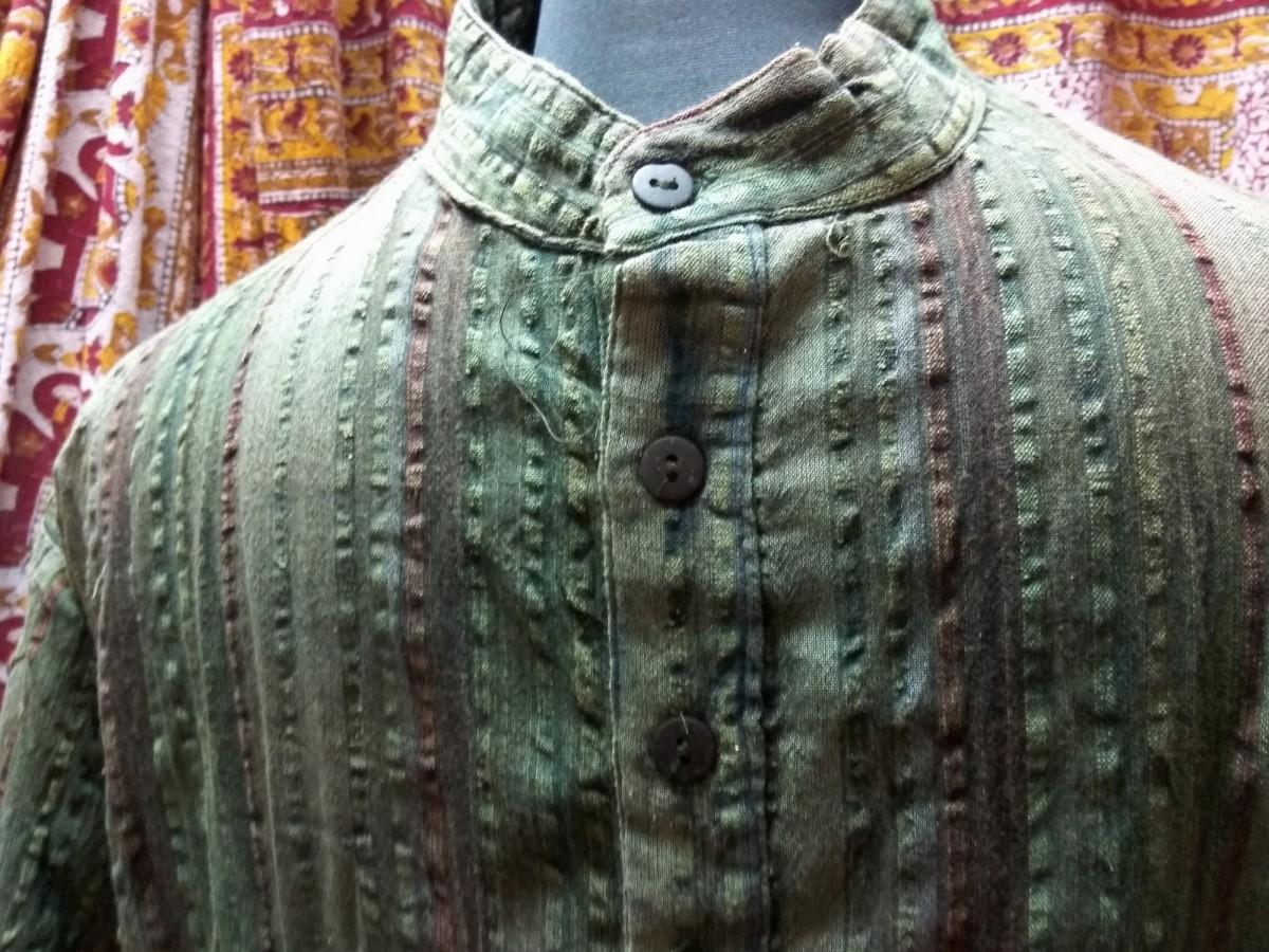 Рубаха зеленая