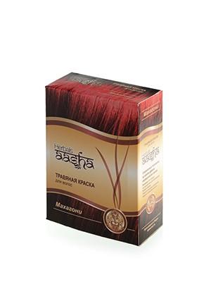 Травяная краска для волос Махагони 6х10г