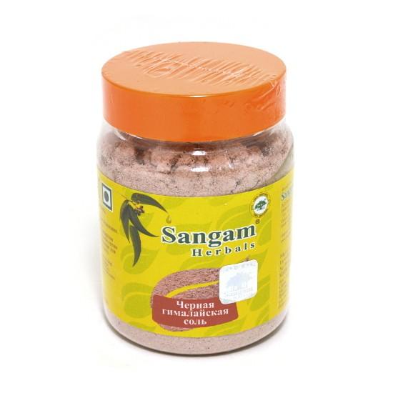Соль черная гималайская  Sangam Herbals (120г)